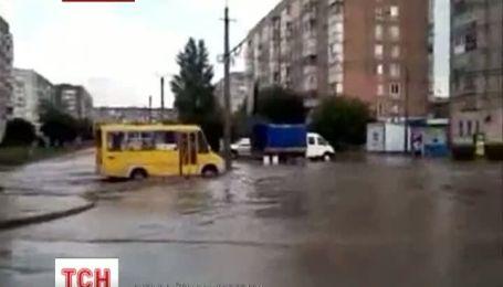 Кировоград снова затопило
