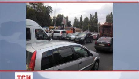 Маштабне ДТП у Одесі: зіткнулись одразу 7 авто