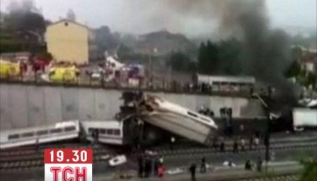Місце катастрофи потягу в Іспанії нагадує знімальний майданчик фільму жахів