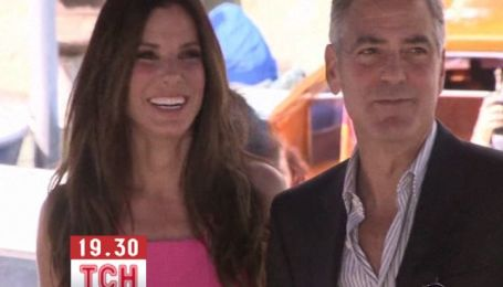 Джордж Клуні і Сандра Баллок разом прибули на 70-й Венеціанський кінофестиваль