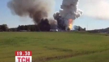 В Канаде на фабрике фейерверков прогремел взрыв, есть жертвы
