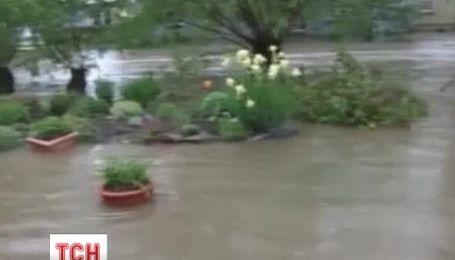 Сильные ливни на выходных спровоцировали паводки в Германии