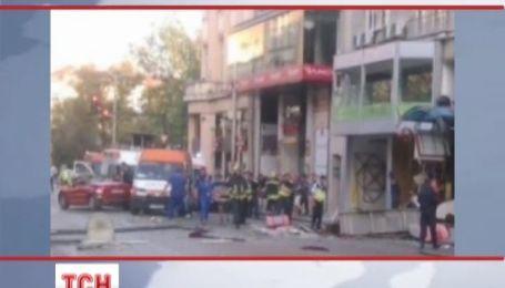 В центрі Софії вибухнув ресторан