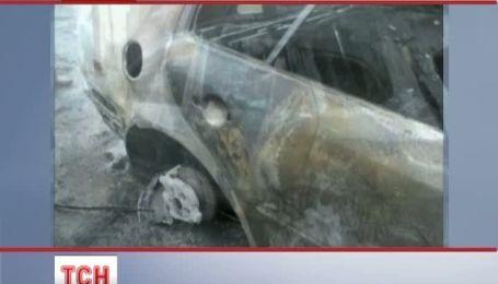 На Закарпатье задержали подозреваемого в поджоге авто