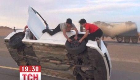 Экстремальный автоспорт осваивают в Саудовской Аравии