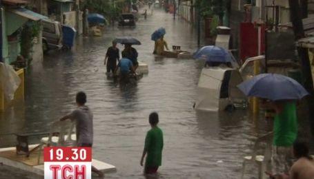 Штормові дощі затопили столицю Філіппін
