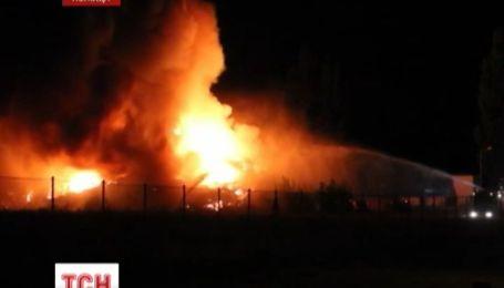 У Польщі ледь загасили масштабну пожежу