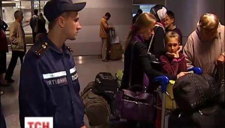 34 украинца вчера вернулись в Украине из Сирии.