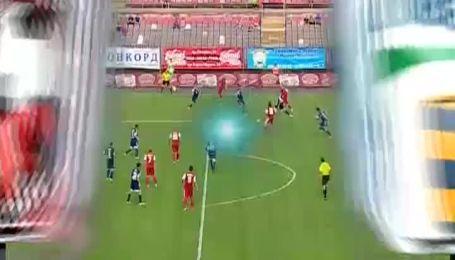 Кривбасс - Говерла - 1:0. Антонов