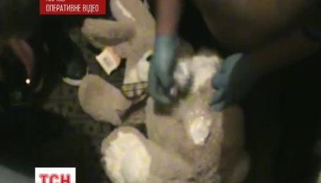 В Харькове оперативники нашли кокаин в плюшевых зверушках