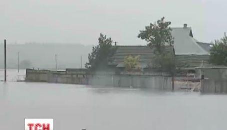 Дожди затапливают Украину