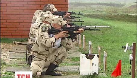 Под Киевом начались соревнования по краповые береты