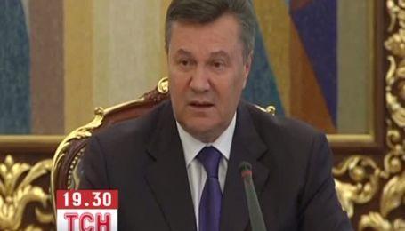 Янукович настаивает на внеочередной сессии для ВР
