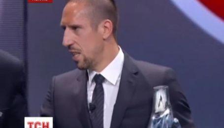 Франк Рібері став кращим футболістом року в Європі