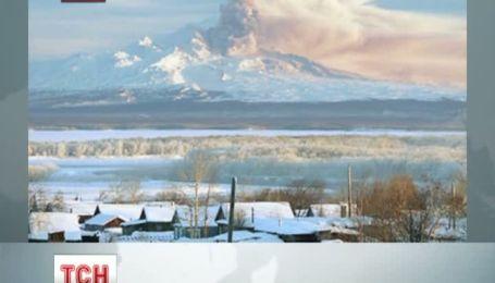 На Камчатці прокинувся вулкан Шивелуч