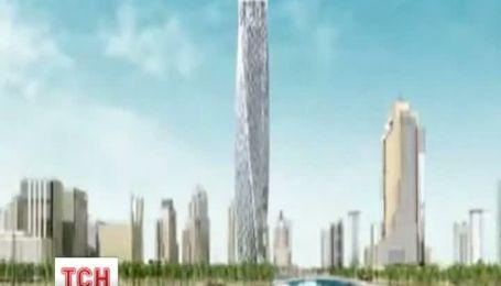 У Дубаї відкрили найвищий у світі житловий будинок у формі спіралі