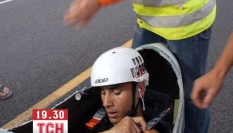 Голландский велосипедист установил рекорд скорости