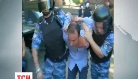 В Киевсовете Беркут ловил активистов