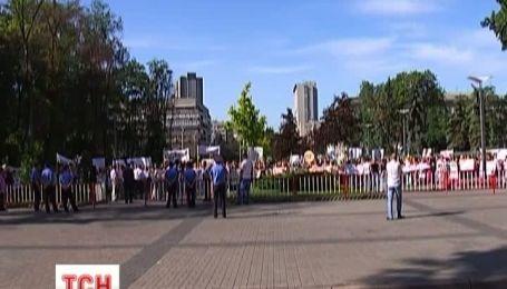 У Дніпропетровську влаштували безстроковий протест студенти одного з вишів