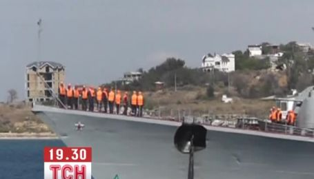 Военные корабли ЧФ РФ отправились к берегам Сирии