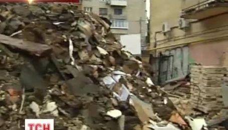 В Киеве разрушили дом, где жил первый президент Украины Грушевский