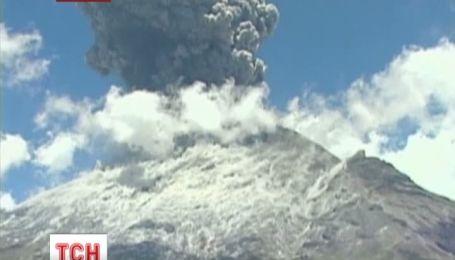 """У Мексиці прокинулася """"гора, що димить"""""""