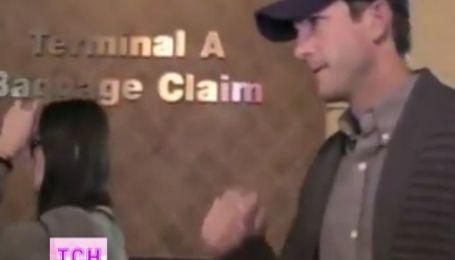 Папарацци поймали Деми Мур с бывшим мужем Эштоном Катчером