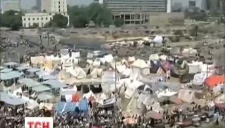 Многолюдный протест состоялся в Египте
