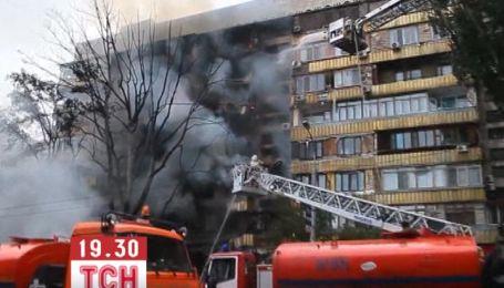 Взрыв бензовоза разрушил дом и уничтожил десяток автомобилей