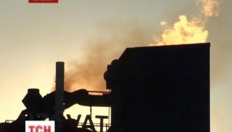 В Житомире жители микрорайона протестуют против вонючих выбросов в атмосферу