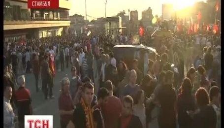 Пряме включення протестів у Туреччині