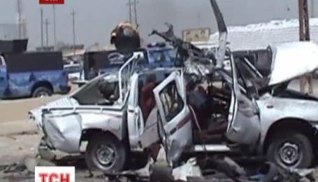 Новая волна взрывов прошла Багдадом
