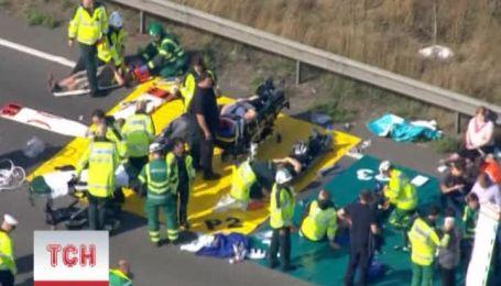 У Британії зіткнулись 130 авто