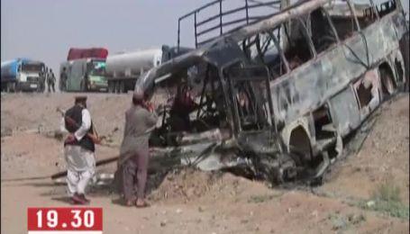 Десятки людей згоріли живцем в аварії в Афганістані
