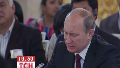 """Путин рассказал экспортерам газа о """"серьезном вызове"""""""
