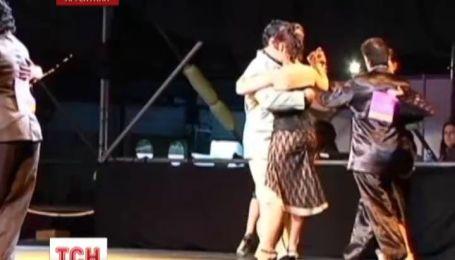 В Аргентине прошел чемпионат по танго в котором приняли участие однополые пары