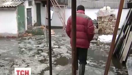У Києві в Броварах затопило будинки