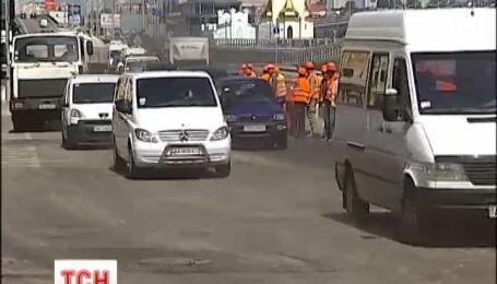 Киевавтодор предсказывает скорый транспортный коллапс