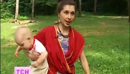 Росава спела для малышей