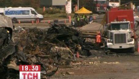В канадському містечку, де вибухнули цистерни, почали відновлювальні роботи