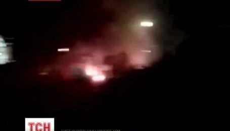 У Запоріжжі вибухнув святковий феєрверк