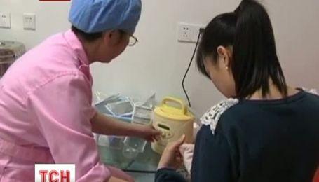 В Китае откроют первый банк грудного молока