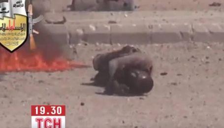 В передмісті Дамаску тривають криваві сутички