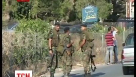Израиль нанес авиаудар по Ливану