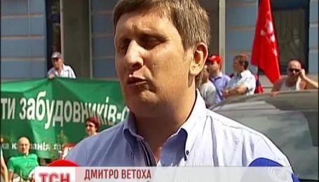 На Березняках продолжаются митинги