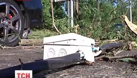 Потужний ураган атакував Одесу