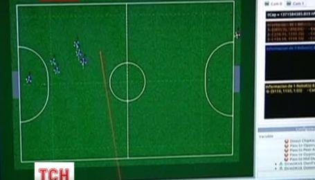 Команди з усього світу створюють роботів для участі у футбольному чемпіонаті
