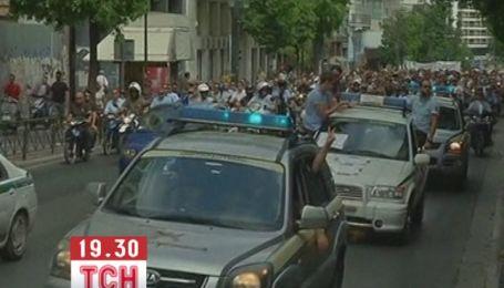 Тисячі поліцейських вийшли на протест в Греції