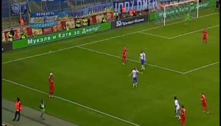 Днепр - Таврия - 1:0. Видео матча