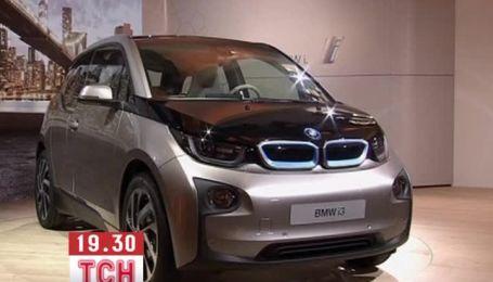 BMW офіційно представила електрокар i3